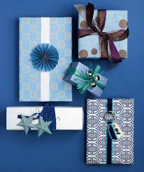 holiday gift wrapping ideas real simple