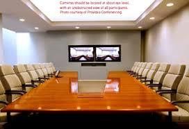 layout ruang rapat yang baik video conferencing conference room lighting