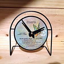 weird clock authentic vintage album cover clocks memorabilia rock u0026 roll