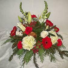 christmas flower arrangements christmas flower arrangements florist delivery prospect ct waterbury