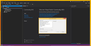 you can use mysql for visual studio in visual studio 2013