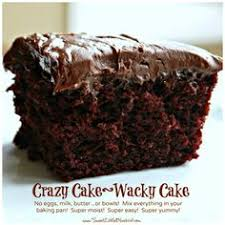 chocolate crazy cake no eggs milk butter or bowls wacky cake