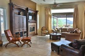 the living room furniture the living room phoenix az rustic living room with stone fireplace