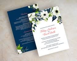 wedding invitations blue wedding invitations glitter invitation simple by appleberryink