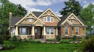 Craftsman Style Homes Plans Cottage Style Home Plans One Storyaftsman House Bungalow