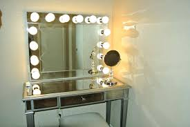 Chrome Bathroom Mirror by Wall Mirror Led Lighted Makeup Mirror Wall Mounted Hardwired