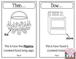 help children compare the lives of the pilgrims to the