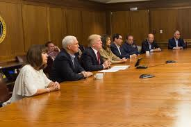 The Cabinet In Government Photos From The Teleconference Briefing On Hurricane Irma