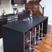 comptoir de cuisine noir comptoir de granit quartz et marbre nuance design laval