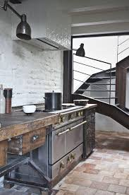 kitchen design 20 kitchen design kitchen industrial and rustic kitchen with dark colors 20