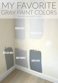 the best gray paint colors revealed livelovediy blog