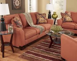 Orange Sofa Living Room by Russet Modern Contemporary Sofa Loveseat Set Couch Living Room