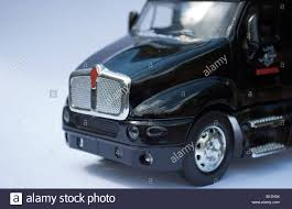 big kenworth trucks a small toy model of a big rig kenworth truck stock photo royalty