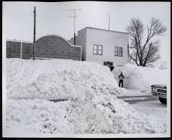 North Dakota Travel Merry images North dakota blizzard of 1966 hague 39 s main street shows the jpg