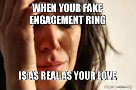 Engagement Meme - 15 funny engagement memes that tells how it really feels to be