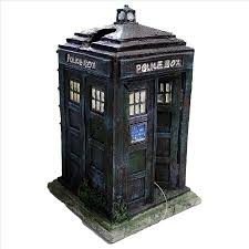 tardis resin aquarium ornament for the dr who fan