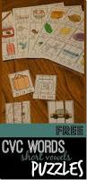 kindergarten worksheets and games free cvc words puzzles short