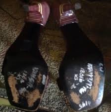 muted purple gucci stiletto strappy uniique heels sale priced grape dark muted