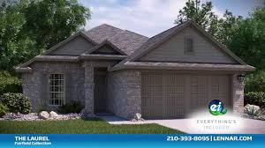 Lennar Homes Floor Plans by The Laurel Floor Plan Fairfield Collection Lennar San Antonio