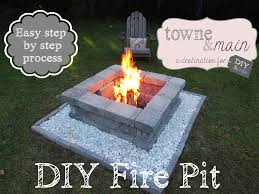 how to build a fire pit in your backyard from on home design ideas