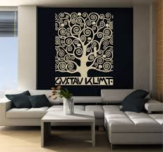 large wall art inspired by klimt s tree of zoom