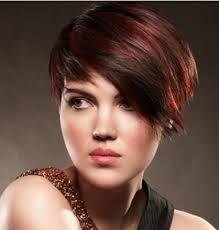 highlights in very short hair short haircuts with bangs and highlights hair