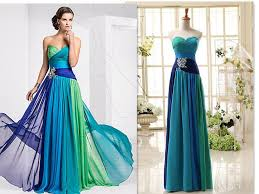 colorful prom dresses custom made 2015 fashion new strapless