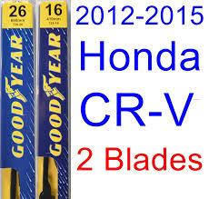2008 honda crv wiper blades amazon com 2012 2015 honda cr v wiper blade rear goodyear