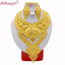 big size necklace images Adixyn big heavy plus size necklace earrings jewelry sets for jpg
