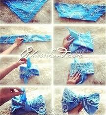 bandana bow how to make a bandana bow do it yourself bandana