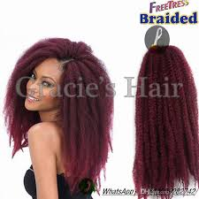 whats the best marley hair for crochet braids 18inch crochet braids hair extensionkinky twist marley braid afro