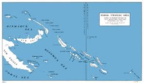 Map Of Pacific Islands Hyperwar Usmc Operations In Wwii Vol Ii Isolation Of Rabaul
