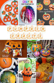 Halloween Pumpkin Crafts Fall Pumpkin Crafts For Thanksgiving And Halloween U2022 The Inspired Home