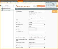 gift card software magento gift card magento gift certificate extension