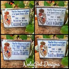 new orleans louisiana french quarter spanish tile replicas