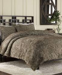 Fur Bed Set Bear Faux Fur Duvet Cover Set Zulily