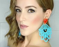 large stud earrings large stud earrings etsy