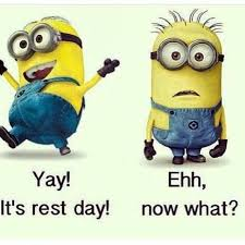 Gym Rest Day Meme - rest day crossfit rebels