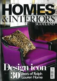 home and interiors scotland jamstudio featured in homes and interiors scotland magazine