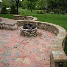 Fire Pit Glass Stones by Stone Fireplaces Circular Fit Pits Outdoor Fireplaces D M