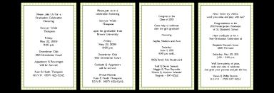 graduation wording cloveranddot