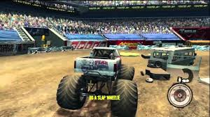 monster truck video games free monster jam path of destruction gameplay stunts hd 360 ps3