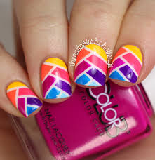 hi guys today ive got a bit of nail art for you inspired by