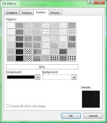 put an image pattern inside of text using microsoft word all