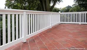 handlauf holz balkon terrassen sichtschutz hartholz 25 jahre garantie