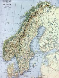 Old Map Of Europe by Maps Of Baltic And Scandinavia Detailed Political Relief Road