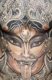 mer enn 25 bra ideer om kali tattoo på pinterest hinduisme
