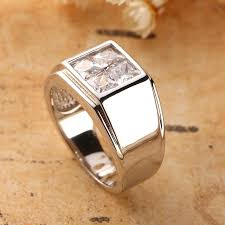 s day rings s day ring 925 sterling silver men rings princess cut