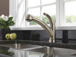 Delta Hands Free Kitchen Faucet by Palo Kitchen Collection