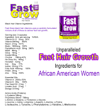 grow best hair vitamins for faster african american hair growth